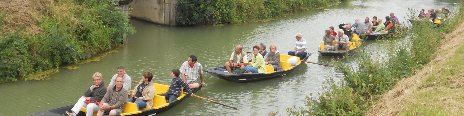 Barques marais poitevin - Bouillé-Courdault Vendée