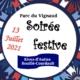 Soiree festive 13 juillet 2021 - Rives d'Autise - Bouille Courdault