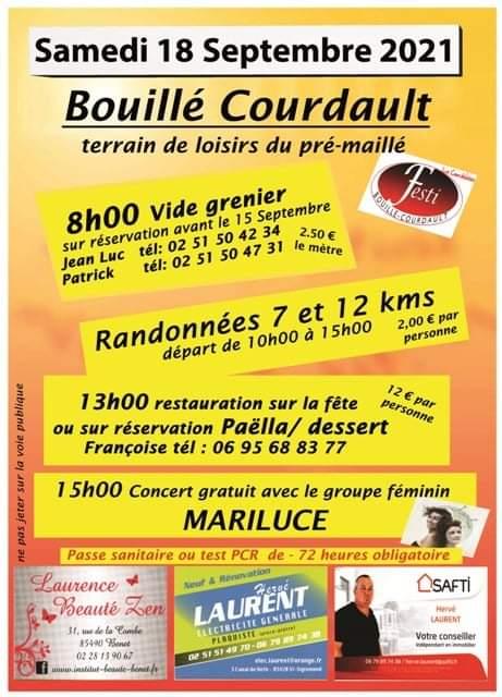 ANIMATION FESTI BOUILLÉ-COURDAULT 18-09-2021